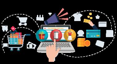 Servicio de desarrollo de tiendas virtuales